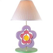 Hippie Spinning Flower Lamp, Pastel E27 Cfl 23