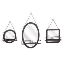 Ella Elaine Shaving Mirrors - Set of 3