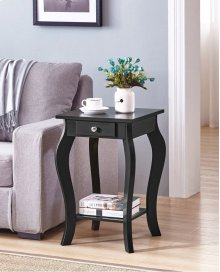 7092 Black End Table