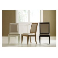 Everyday Dining by Rachael Ray Upholstered Back Side Chair - Nutmeg Product Image