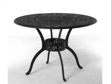 """54"""" Round Counter Height Inlaid Lazy Susan Table"""