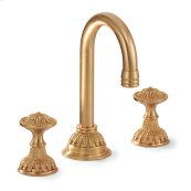 Antique Gold Acanthus Bar Set