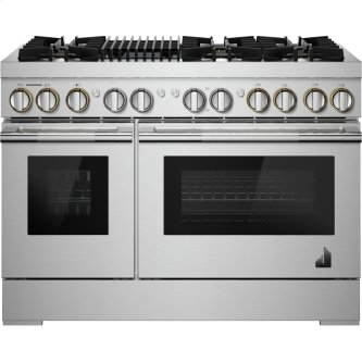 "RISE(TM) 48"" Dual-Fuel Professional Range with Gas Grill, RISE"