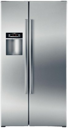 """36"""" Counter Depth Side-by-Side Refrigerator 300 Series - Stainless Steel"""