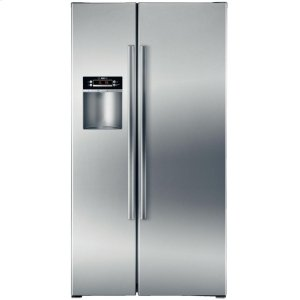 "BOSCH36"" Counter Depth Side-by-Side Refrigerator 300 Series - Stainless Steel"
