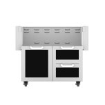 "Hestan36"" Hestan Outdoor Tower Cart with Door/Drawer Combo - GCR Series - Stealth"