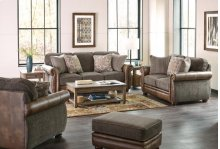 4439  Sofa, Loveseat & Chair - Pennington