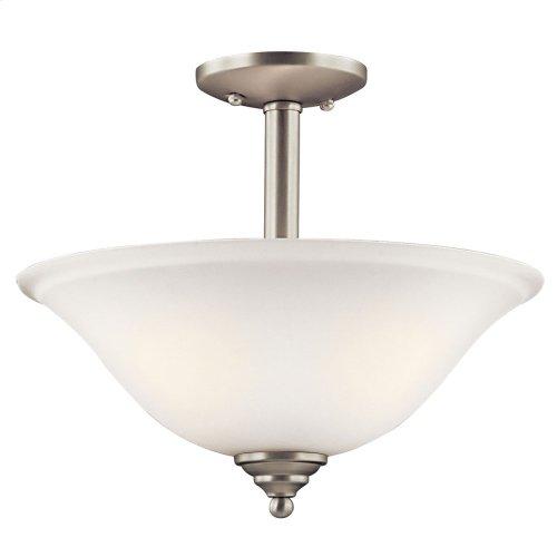Armida Collection Armida 2 light Pendant/Semi Flush NI