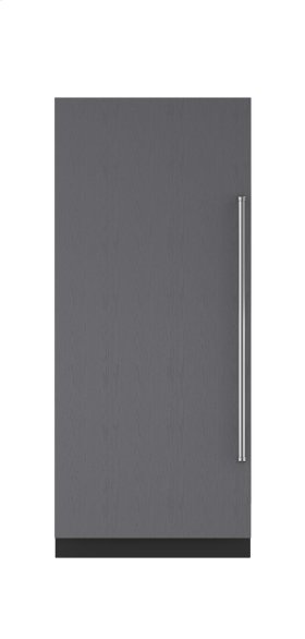 """36"""" Integrated Column Freezer with Ice Maker - Panel Ready"""