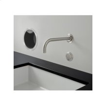 Build-in basin tap with on-off sensor for 'hands free' operation - Grey