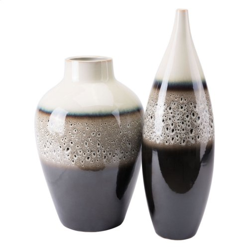 Dripped Md Vase Multicolor