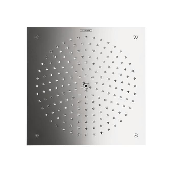 Chrome Showerhead 260 Square 1-Jet Trim, 2.5 GPM