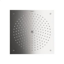 Chrome Raindance 260 Square 1-Jet Showerhead Trim, 2.5 GPM
