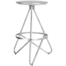 Galexia Counter Stool - Silver Leaf