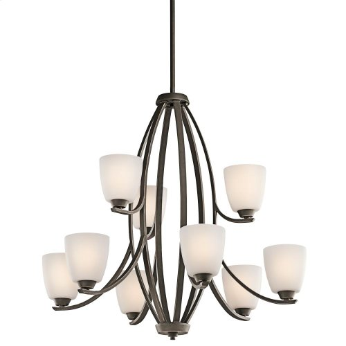Granby Collection Granby 9 Light Chandelier - Olde Bronze