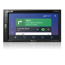 "Multimedia DVD Receiver with 6.8"" WVGA Display, Apple CarPlay "", Android Auto "", Built-in Bluetooth ® , and SiriusXM-Ready """