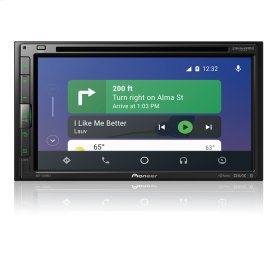 """Multimedia DVD Receiver with 6.8"""" WVGA Display, Apple CarPlay """", Android Auto """", Built-in Bluetooth ® , and SiriusXM-Ready """""""