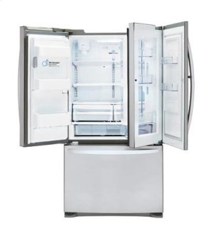 CLOSEOUT - 24 cu. ft. Large Capacity 3-Door French Door Refrigerator w/ Door-in-Door®