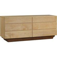 Custom 6-Drawer Dresser