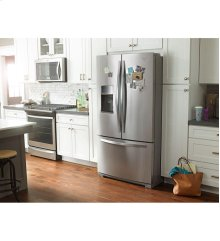 Scratch and Dent/Blemished 36-inch Wide French Door Bottom Freezer Refrigerator with StoreRight System - 27cu. ft.