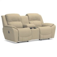 Barrett La-Z-Time® Full Reclining Loveseat w/ Console