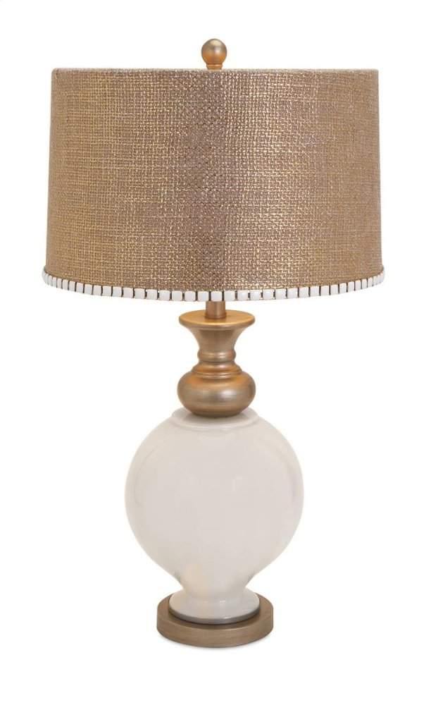 BF Lily Glass Lamp