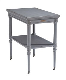 French Grey Petite Rosette Table