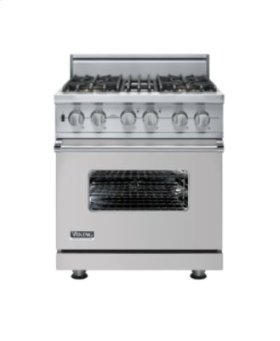 """30"""" Custom Sealed Burner Self-Cleaning Range, Natural Gas, No Brass Accent"""