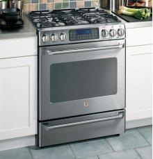 GE Cafe™ Free Standing Dual-Fuel Range with Baking Drawer