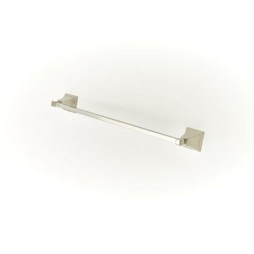 24in Towel Bar Leyden (series 14) Satin Nickel