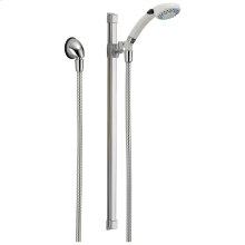 White/Chrome Fundamentals ™ 2-Setting Glide Rail Hand Shower