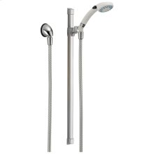White/Chrome Fundamentals ™ 2-Setting Glide Rail Hand Shower
