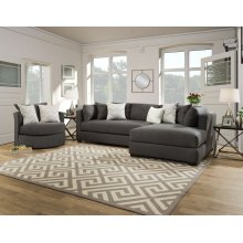 5500 - Parker Charcoal 2PC Sectional
