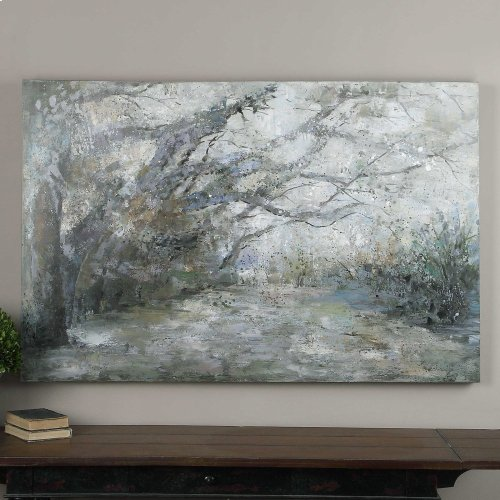 Forest Lane Hand Painted Canvas