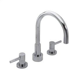 Matte-White Roman Tub Faucet
