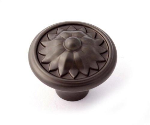 Fiore Knob A1471 - Chocolate Bronze