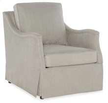 Living Room Oberlin Skirted Club Chair