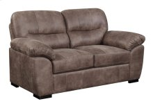 Loveseat Almond Brown