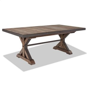 Dining - Taos Trestle Table with Storing Leaf