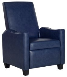 Holden Recliner Chair - Navy