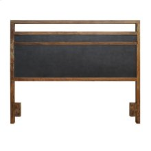 Bellevue Queen Headboard, Graphite/Natural Mango