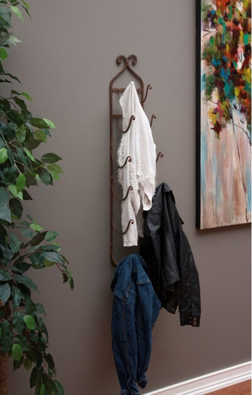 Rustic Towel/Wine Rack