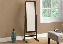 """MIRROR - 60""""H / CAPPUCCINO WOOD FRAME"""