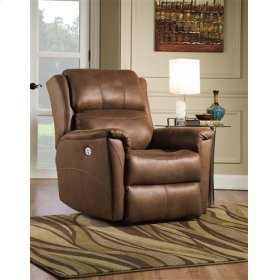 Leather Rocker Recliner (available in Fabric)