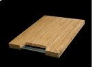 """MCB-501 High Quality Bamboo Cutting Board with Steel Handle - (LxWxD) 15"""" Cutting Board: 19"""" x 13-1/8"""" x 1-1/2"""" Product Image"""