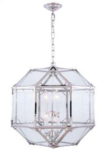 Gordon Collection 4-Light Polished Nickel Finish Pendant