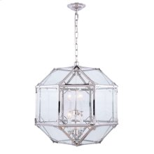 Gordon Collection 4-Light Polished Nickel Finish Pendant