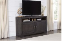 54 Inch Console - Scorched Pine Finish