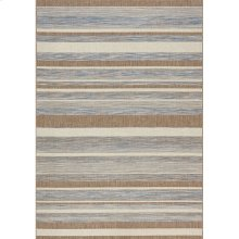 Trellis 5146 Blue Brown 6 x 8