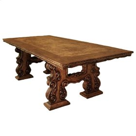 Lima Hand Painted Wood Table